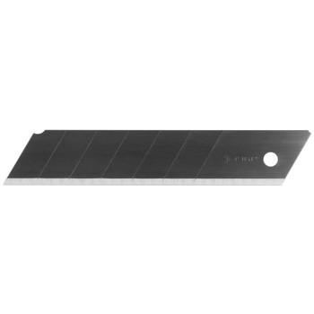 Лезвия сегментированные вороненые Зубр Эксперт, 25 мм, 5 шт