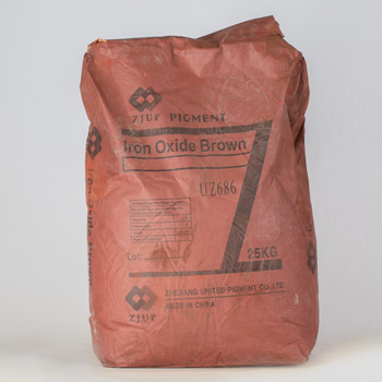 Пигмент железоокисный коричневый, 25 кг