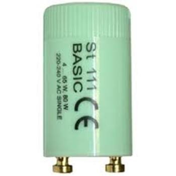 Стартер для люминесцентных ламп ST 111 BASIC OSRAM смол (4-65W;80W) 335
