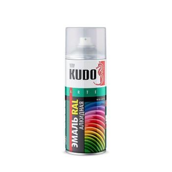 Эмаль универсальная RAL 9010 белый KUDO-09010, 520 мл