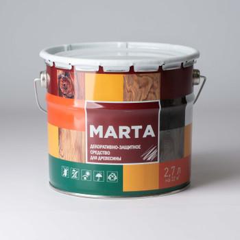 Деревозащитное средство Marta Палисандр, 2,7л