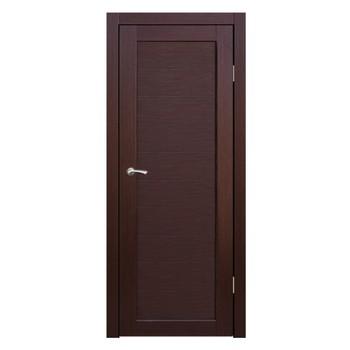 Полотно дверное глухое Легро (без молдингов) СИНЕРЖИ ноче кремоне ПВХ, ПДГ 700х2000мм