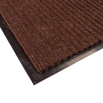Коврик грязезащитный Двухполосный, коричневый, 90х150 см