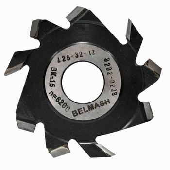 Фреза пазовая с подрезающими зубьями, БЕЛМАШ RF0087A 125х32х12 мм