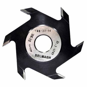 Фреза пазовая, БЕЛМАШ RF0048A 160х32х14 мм
