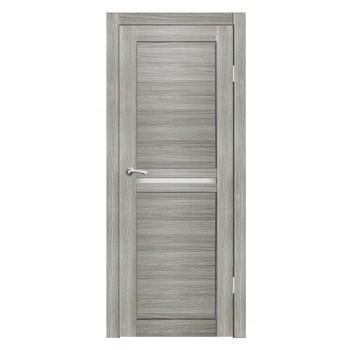 Полотно дверное остекленное Лацио СИНЕРЖИ грей ПВХ, ПДО 700х2000мм