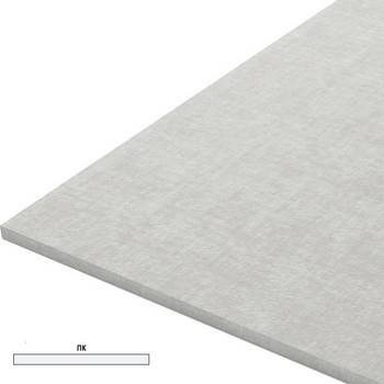 Гипсоволокнистый лист 1200x2500х12,5мм, КНАУФ (без фаски)
