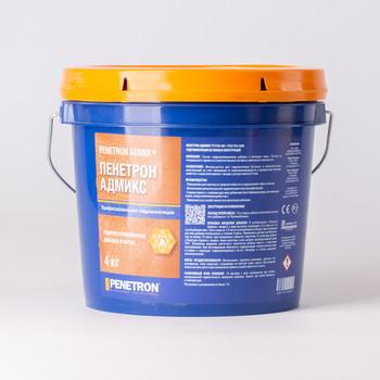 Гидроизоляция проникающая Пенетрон Адмикс для бетона, 4 кг