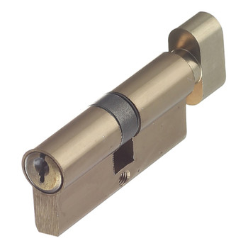 Цилиндровый механизм ФЗ AL 70 англ. ключ-вертушка античная бронза