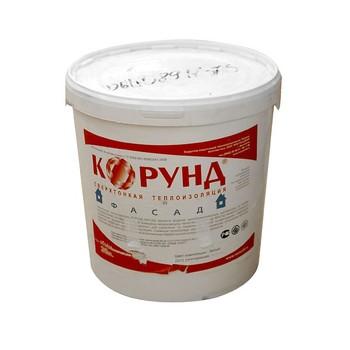 *удал*Жидкий керамический теплоизоляционный материал Корунд Фасад 10 л.