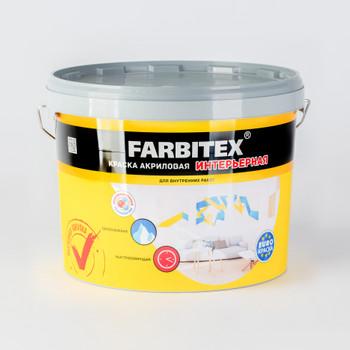 Краска интерьерная FARBITEX, 13кг