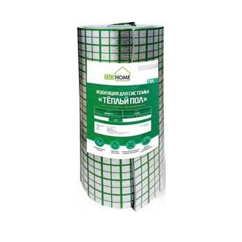 Отражающая теплоизоляция ISOHOME ПЛ 1,2х25х5мм Теплый пол