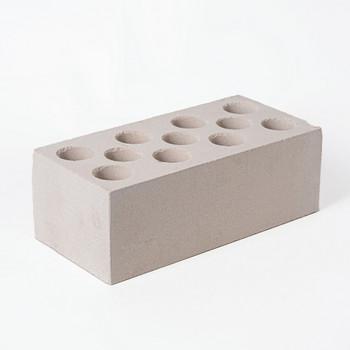 Кирпич облицовочный силикатный пустотелый полуторный М-150/200, белый, Винзили
