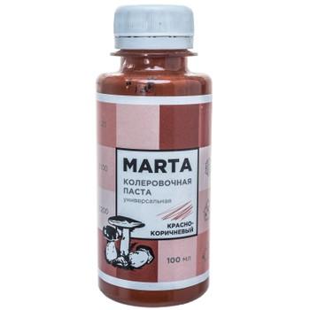 Колер MARTA №8 универсальный красно-коричневый, 100мл