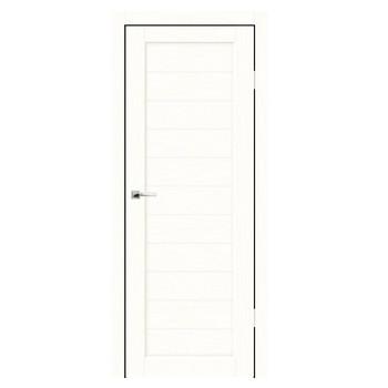 Полотно дверное глухое Легро (без молдингов) СИНЕРЖИ ясень белый ПВХ, ПДГ 900х2000мм