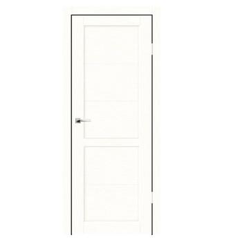 Дверное полотно Синержи Венеция, Белый ясень, ПДГ 600Х2000ММ