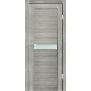 Полотно дверное остекленное Примо (стекло сатин бронза) СИНЕРЖИ ель ПВХ, ПДО 800х2000мм