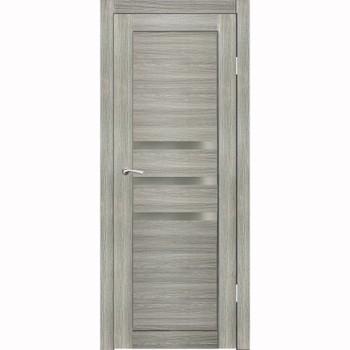 Полотно дверное остекленное Грация (стекло сатин бронза) СИНЕРЖИ ель ПВХ, ПДО 600х2000мм