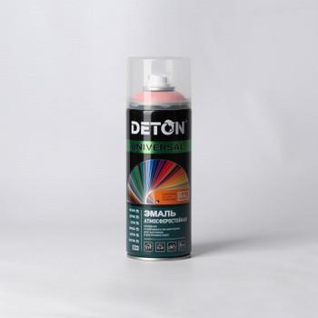 Эмаль аэрозольная DETON оранжевая (2009), 0,52л