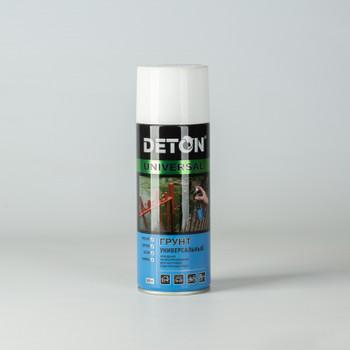 Грунт аэрозольный DETON алкидный белый, 0,52л