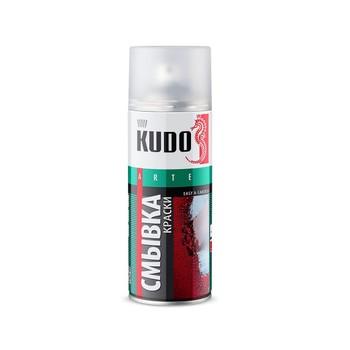Смывка старой краски аэрозольная KUDO (9001), 0,52л