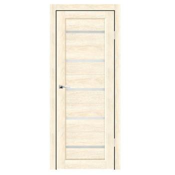 Полотно дверное остекленное Бьянка СИНЕРЖИ ваниль ПВХ, ПДО 700х2000мм