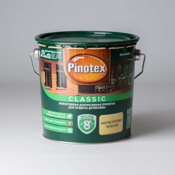 Декоративно-защитное средство для дерева Pinotex Classic б/цвет., 2,7л