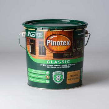 Декоративно-защитное средство для дерева Pinotex Classic Калужница, 2,7л