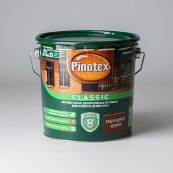 Декоративно-защитное средство для дерева Pinotex Classic Красное дерево, 2,7л
