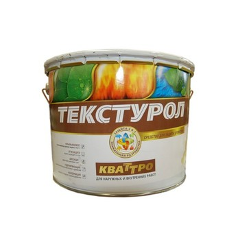 Средство для защиты древесины 4-в-1 Текстурол Кваттро б/цветный, 10 л