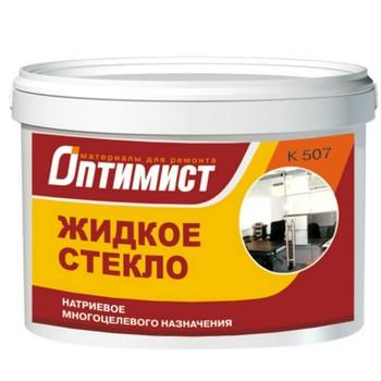Стекло жидкое 4 кг (ПЭТ) ОПТИМИСТ