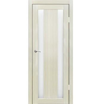 Полотно дверное остекленное Маэстро СИНЕРЖИ ваниль ПВХ, ПДО 800х2000мм