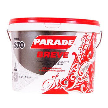 Покрытие декоративное Parade Deco S70 Effetto di pelliccia Breve мелкозернистая шуба, 15кг