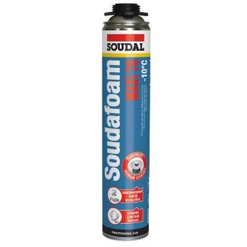 Пена монтажная Soudal Soudafoam Maxi 70 профессиональная, зимняя, 870 мл