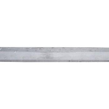 Профиль торцевой прозрачный, 8 мм х 2,1 м