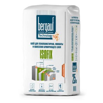 Штукатурно-клеевая смесь Bergauf Isofix, 25 кг