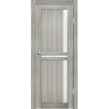 Полотно дверное остекленное Эль Порте СИНЕРЖИ грей ПВХ, ПДО 700х2000мм