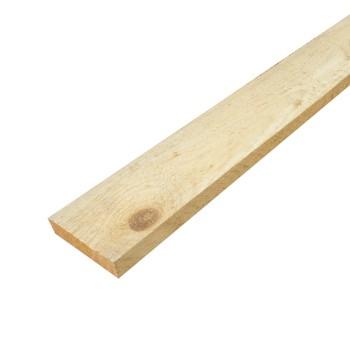 Доска обрезная 25х150х6000 мм (1 сорт) хвоя, естественной влажности