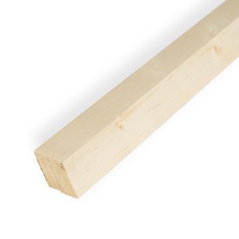 Брусок обрезной естественной влажности 50х50х3000 мм, хвоя (сорт 1)