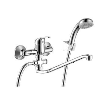 Смеситель для ванны с S-образным изливом Rossinka Y35-35