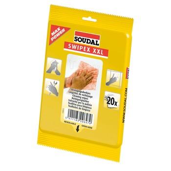Салфетки SOUDAL для очистки рук от пен, герметиков, масел и красок