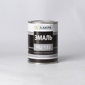 Эмаль НЦ-132 черная, 0,7кг (Лакра)