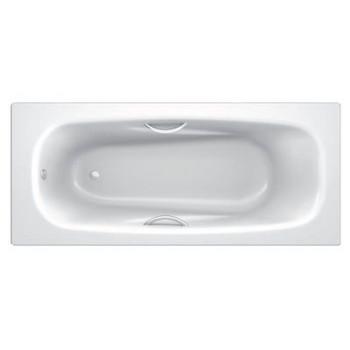 Стальная ванна с отверстиями для ручек BLB ANATOMICA HG 170х75, B75L handles
