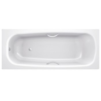 Стальная ванна с отверстиями для ручек BLB UNIVERSAL HG 170х75, B75H handles