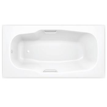 Стальная ванна с отверстиями для ручек BLB ATLANTICA HG 180х80, B80J handles