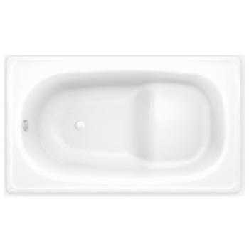 Стальная сидячая ванна BLB EUROPA MINI 105х70 BO5E