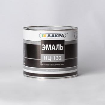 Эмаль НЦ-132 Лакра, белая, 1,7кг