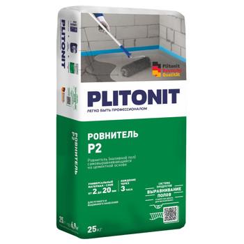 Ровнитель цементный Плитонит Р2, 25 кг