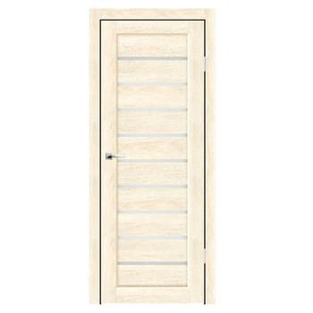 Полотно дверное остекленное Дольче СИНЕРЖИ ваниль ПВХ, ПДО 700х2000мм