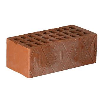 Кирпич строительный пустотелый полуторный (1,4НФ) М-125/150, РКЗ